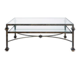 Square Collar 2-Tier Coffee Table CT11E