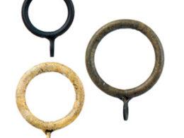 Rings for drapery