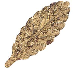Gold Leaf A Glaze premium finish