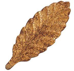 Gold Leaf B Glaze finish