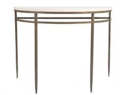 Burchard Demi Lune Console Table CON101D