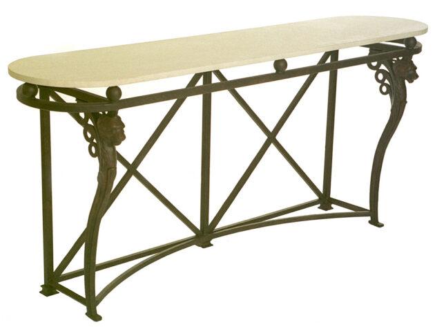 Roman III Console Table CON22C Photo: Jay Mallin