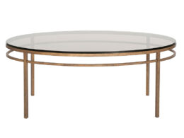 CT43B - Ellipse Oval Coffee Table