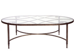 Forged Diamond Scroll Coffee Table CT47