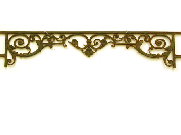 French Balcony Architectural Artifact AA10