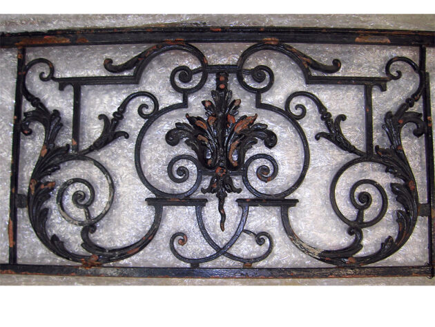 French Balcony Front Architectural Artifact, AA34