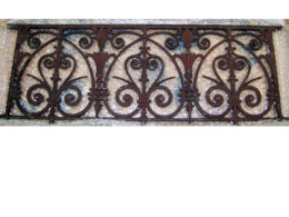 Architectural Artifact Balcony Front AA35