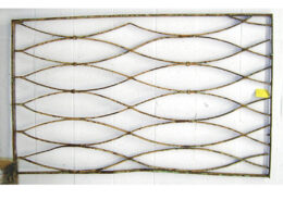 Architectural Artifact Wrought Iron Frame AA36
