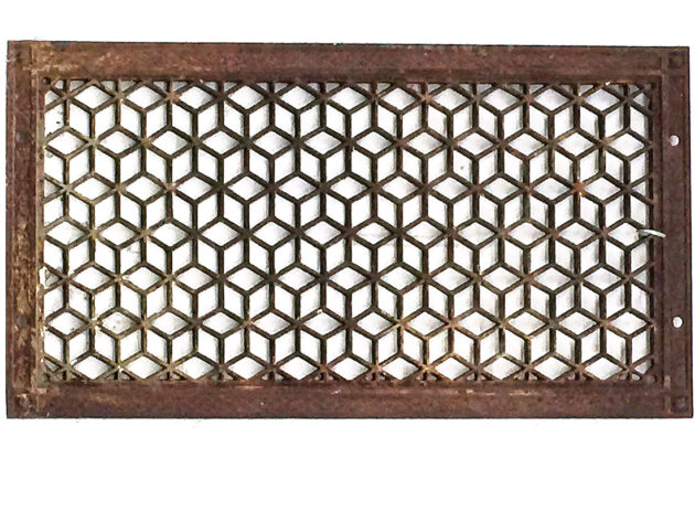 Architectural Artifact Honeycomb Grill AA37