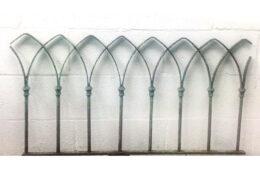 Gothic Rail Architectural Artifact AA40