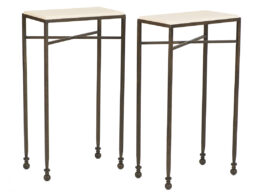OCC01F Mini Ball Pedestal End Tables