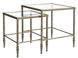 Rope Twist Nesting Occasional Tables OCC24F