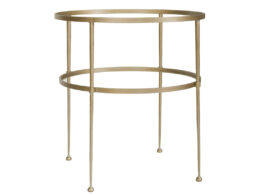 LS 2-Tier Round Occasional Table OCC75B