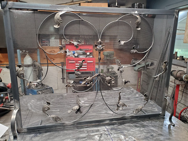 Fire Screen in Production